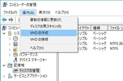 VHD化 3