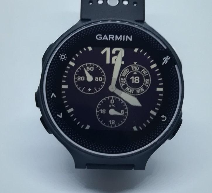 GARMIN ForeAthlete 230J フェイス1