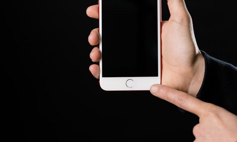 iPhone ホームボタン