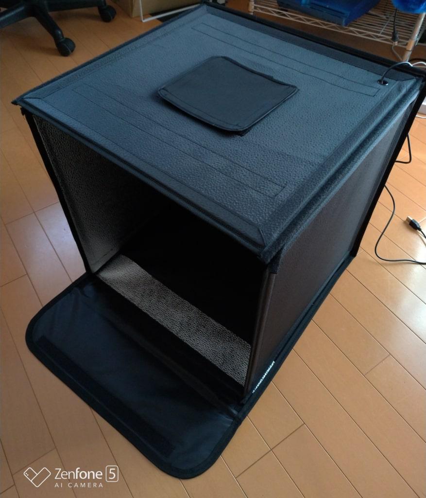 撮影ボックス 組み立て