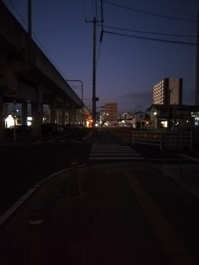 P20 lite 夜景