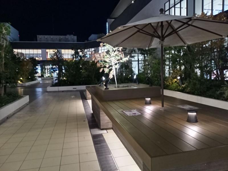 Moto G8 Power Lite 作例(夜景)