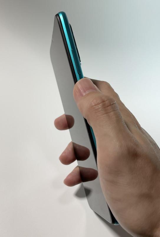 Redmi 9T 指紋センサー