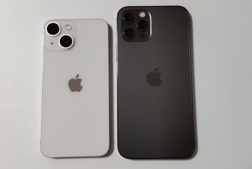 iPhone 13 mini 12 pro